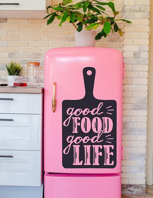 "Vinilo decorativo ""food life"""