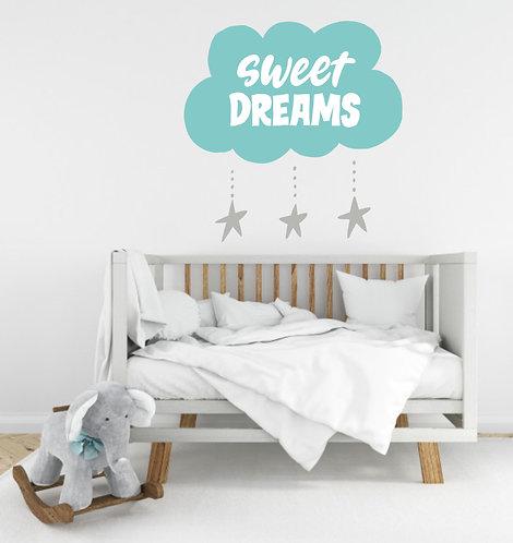 "Vinilo decorativo ""sweet dreams"""