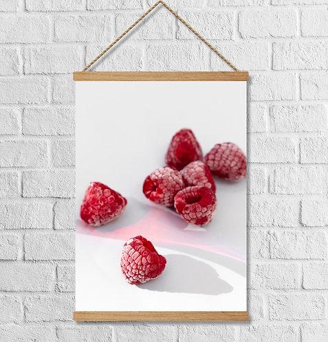 "Cuadro Lienzo ""raspberry"""