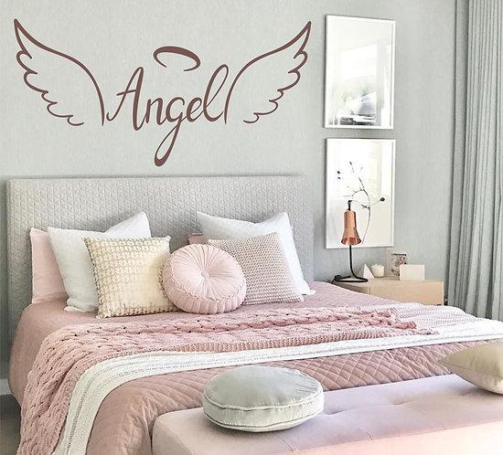 "Vinilo decorativo ""angel"""