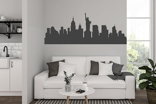 "Vinilo decorativo ""skyline"""