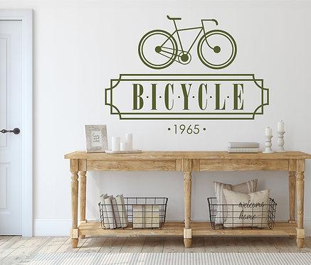 "Vinilo decorativo ""bicycle"""