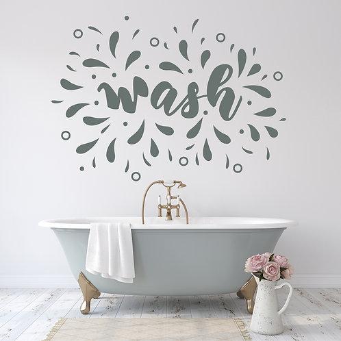 """Vinilo decorativo """"wash"""""""
