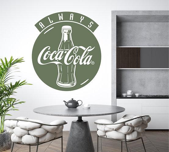 """Vinilo decorativo """"Coca Cola"""""""