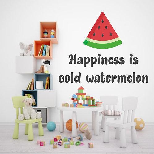 """Vinilo decorativo """"watermelon"""""""