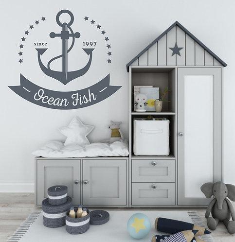 "Vinilo decorativo ""ocean fish"""