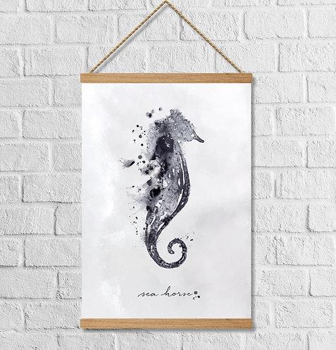 "Cuadro Lienzo ""sea horse"""