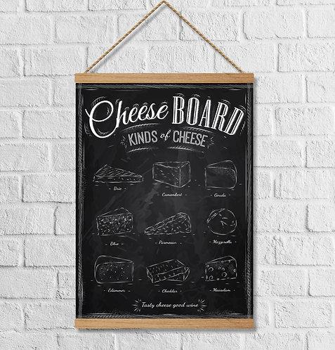 """Cuadro Lienzo """"cheese"""""""