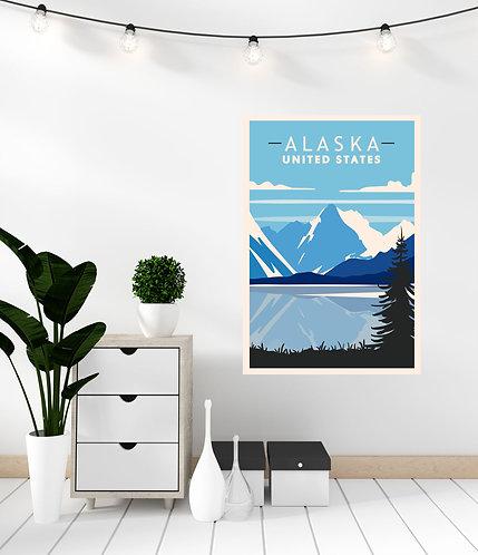"Vinilo impreso ""Alaska"""