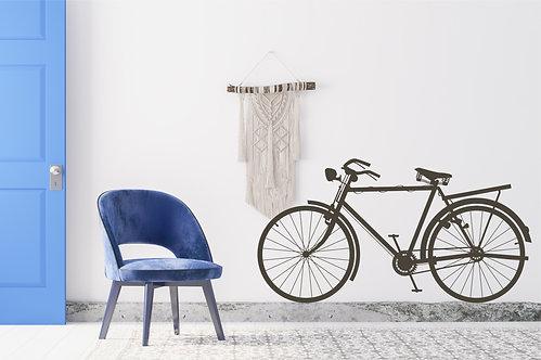"""Vinilo decorativo """"bicicleta"""""""