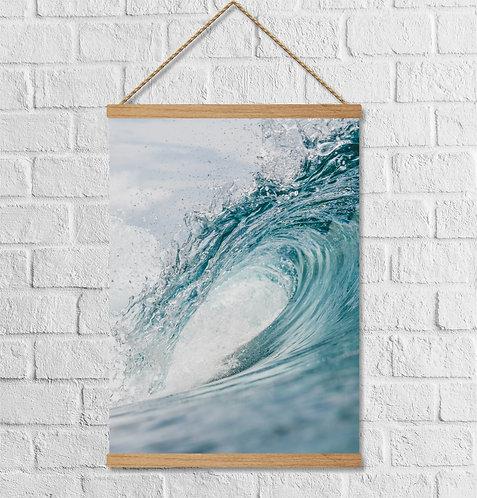 "Cuadro Lienzo ""wave"""
