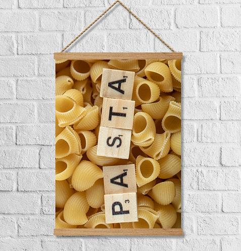 "Cuadro Lienzo ""pasta"""