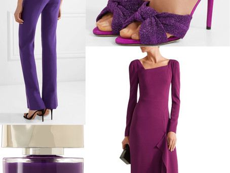 How to wear Pantone's colour of the year... ultra violet!