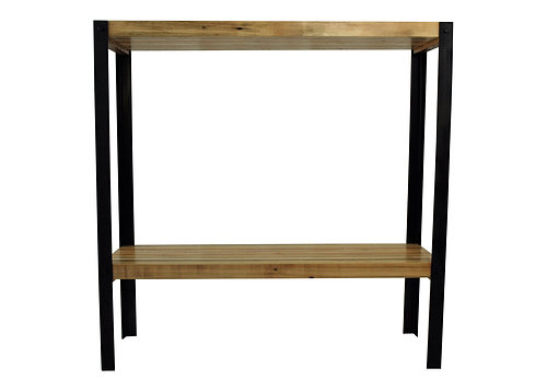 Modern Industrial Reclaimed Wood Sofa Table