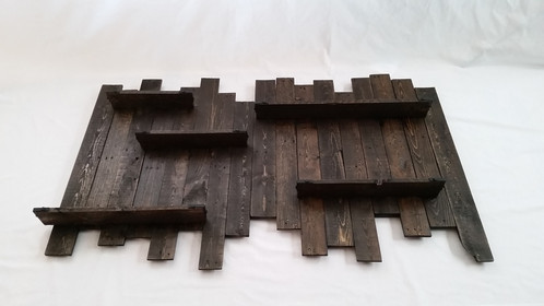 bhp rustic shelves pallet shelf ebay decor wall primitives handmade wood reclaimed