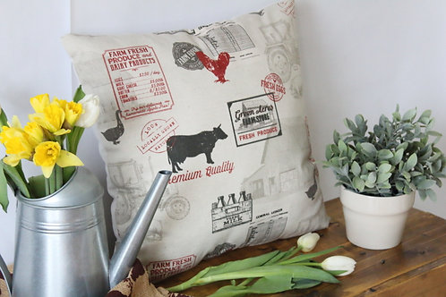 "Farmhouse 18"" Pillow"
