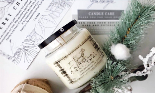 16oz Apothecary Natural Coconut and Soy Candle