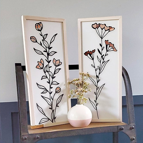 Wildflower Blooms- Set of 2