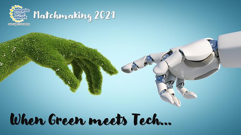 Виртуални двустранни срещи (B2B) по време на 2021 EEN Green and ICT Brokerage Event