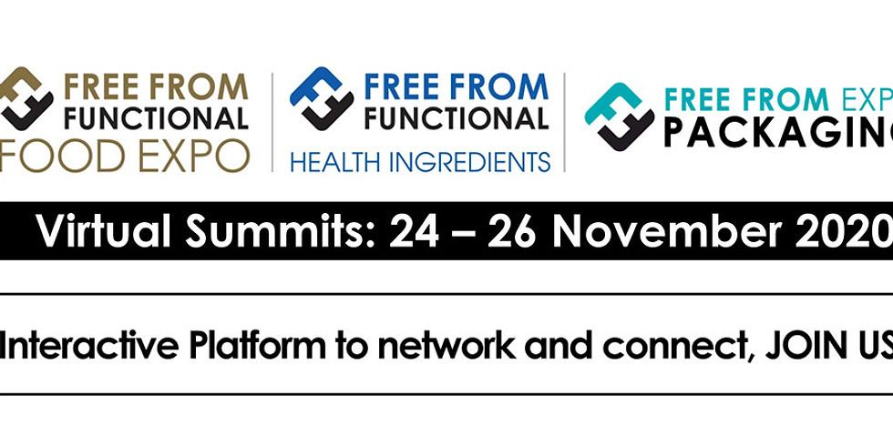 Виртуални двустранни срещи (B2B) по време на Free From Functional Food Expo 2020