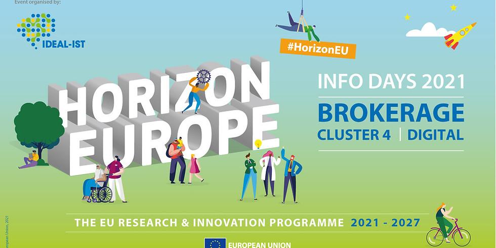 Виртуални двустранни срещи (B2B) Horizon Europe Digital - Face2Face Brokerage