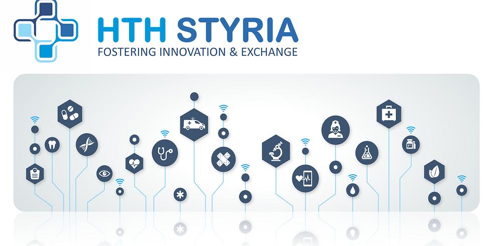 Виртуални двустранни срещи (B2B) по време на  Health Tech Hub Styria 2021