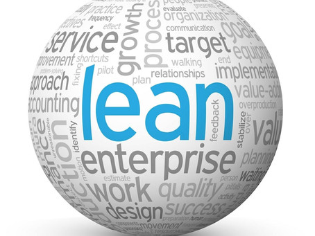 Are you operating LEAN?