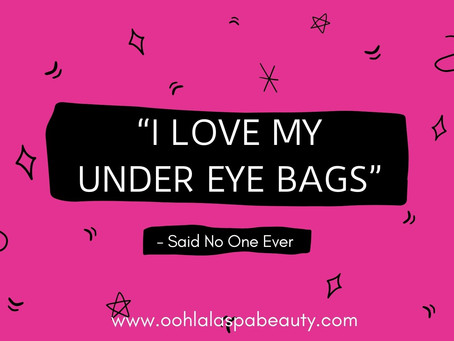 What's causing your Under Eye Lines, Bags and Wrinkles?