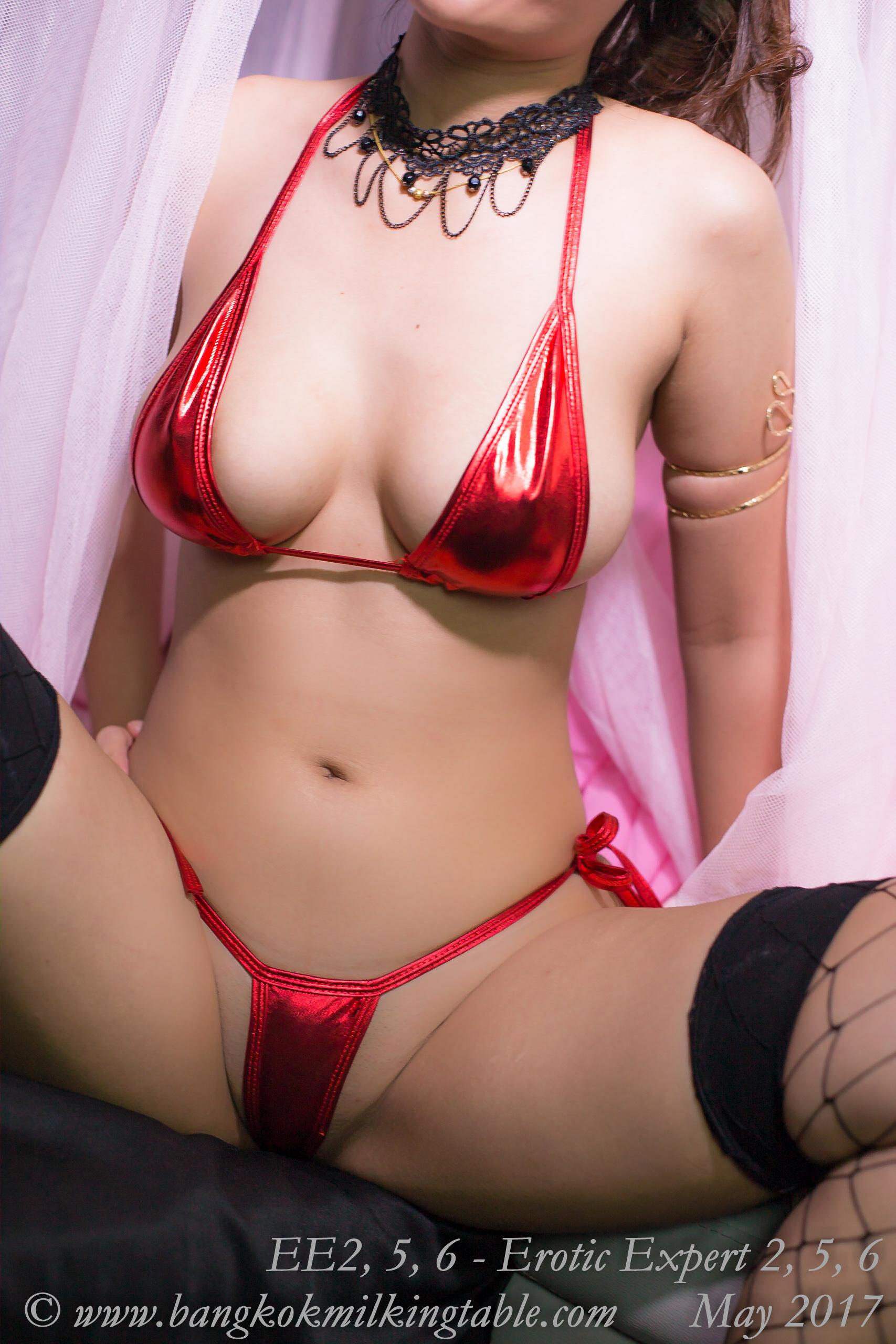 Erotic Expert 2, 5, 6 - string bikini - Bangkok Escort Massage Milking 0517-64