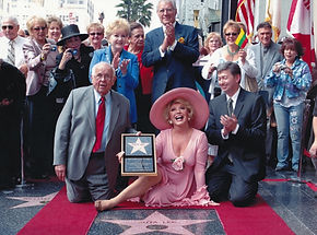 Ruta Lee receives her star on the Hollyw