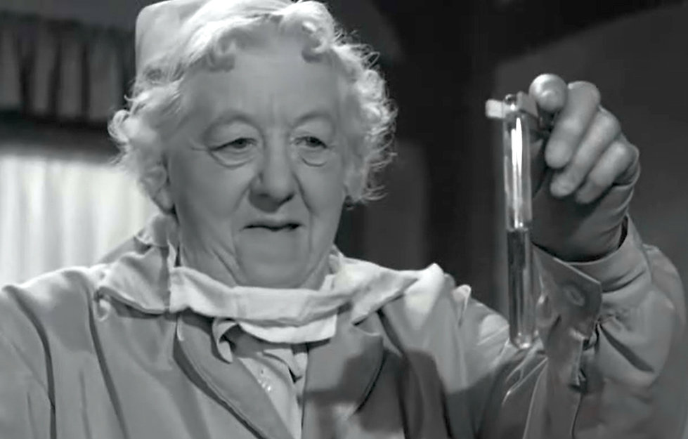 Figure 3. Margaret Rutherford as Miss Ma
