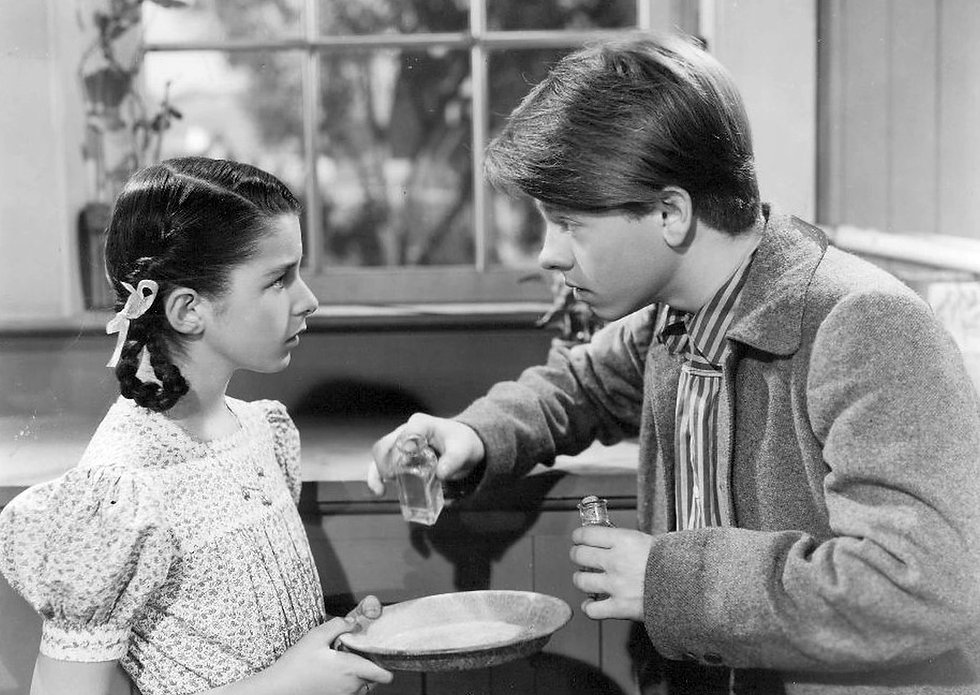 Figure 2. In this scene from Young Tom E