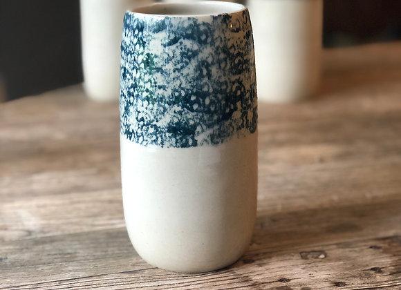 Vase avec motif Bleu #3