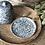 Thumbnail: Beurrier à cloche motifs bleus