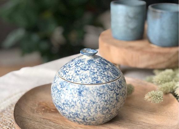Pot motifs bleus 2
