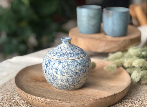 Pot motifs bleus 3