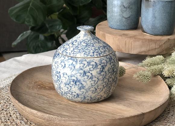 Pot motifs bleus 1