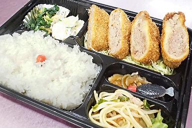 布田精肉店 メンチカツ弁当
