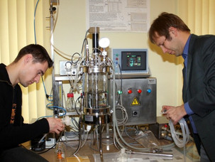 Bioreactor photo session