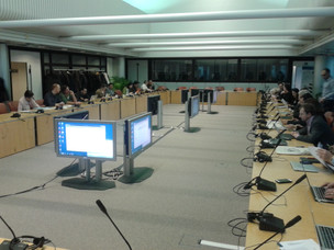 Avicenna (in silico clinical trials) project meeting in Brussels