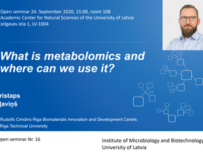 What is metabolomics and where can we use it?