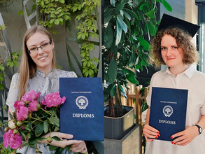 Congratulations to our colleagues with finishing their studies!
