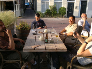 Writing ERASynBio project proposal in Leiden