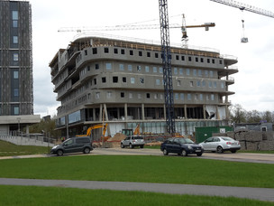 Construction of the new House of Science