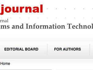 "NEW scientific journal ""Biosystems and Information Technology"""