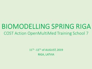Biomodelling Spring Riga