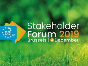 Meet us at the BBI JU Stakeholder Forum 2019
