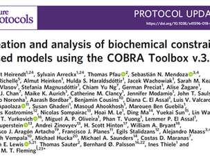 COBRA V3.0 paper published on Nature Protocols