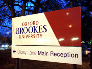 Agris Pentjušs visits Oxford Brookes University via ERASMUS