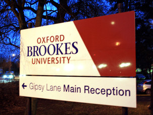 Agris Pentjušs visits Oxford Brookes University via ERASMUS